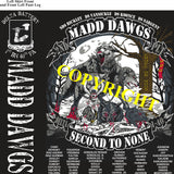 Platoon Shirts (2nd generation print) DELTA 1st 40th MADD DAWGS MAR 2021