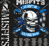 Platoon Shirts (2nd generation print) DELTA 1ST 19TH MISFITS OCT 2017