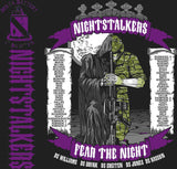 PLATOON SHIRTS (2nd generation print) DELTA 1st 19th NIGHT STALKERS APR 2016