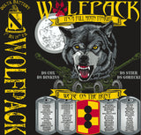 Platoon Shirts DELTA 1st 19th WOLFPACK APR 2015
