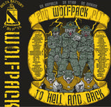 Platoon Shirts DELTA 1st 19th WOLFPACK JULY 2015
