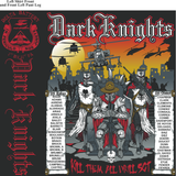 Platoon Shirts Delta 1st 31st DARK KNIGHTS MAR 2015