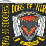 Platoon Shirts Delta 1st 40th DOGS OF WAR MAR 2015
