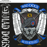 PLATOON SHIRTS (2nd generation print) DELTA 1st 40th MADDOGS JUNE 2016