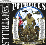 Platoon Shirts (2nd generation print) DELTA 1ST 40TH PITBULLS JAN 2018