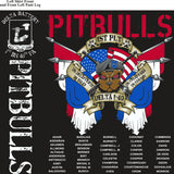 PLATOON SHIRTS (2nd generation print) DELTA 1st 40th PITBULLS JULY 2017