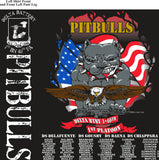 Platoon Shirts (2nd generation print) DELTA 1ST 40TH PITBULLS SEPT 2017