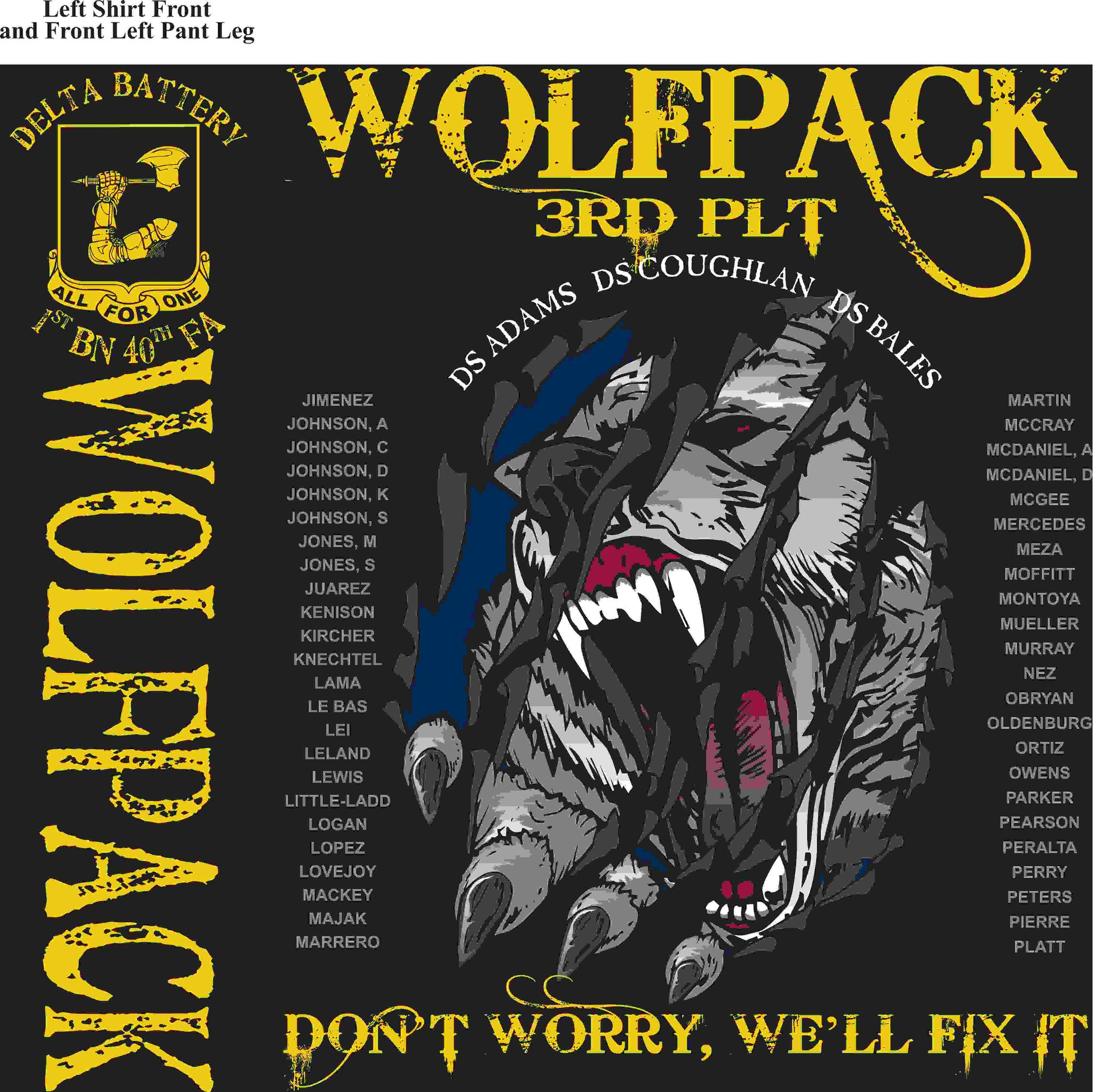 PLATOON SHIRTS (digital) DELTA 1st 40th WOLFPACK DEC 2015