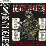 PLATOON SHIRTS (2nd generation print) DELTA 1st 79th DEATH DEALERS JULY 2017
