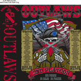 PLATOON SHIRTS (2nd generation print) DELTA 1st 79th OUTLAWS SEPT 2016