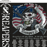 Platoon Shirts (2nd generation print) DELTA 1ST 79TH REAPERS JAN 2018