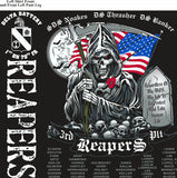 Platoon Shirts (2nd generation print) DELTA 1st 79th REAPERS MAY 2018