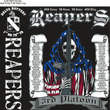 Platoon Shirts (2nd generation print) DELTA 1ST 79TH REAPERS OCT 2017
