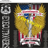 Platoon Shirts (2nd generation print) ECHO 1st 31st EXECUTIONERS DEC 2020