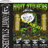 Platoon Shirts (2nd generation print) ECHO 1st 40th NIGHT STALKERS JULY 2020