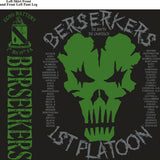 Platoon Shirts ECHO 1st 19th BERSERKERS SEPT 2015