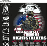 PLATOON SHIRTS (2nd generation print) ECHO 1st 19th NIGHT STALKERS JUNE 2017