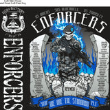 Platoon Shirts (2nd generation print) ECHO 1st 31st ENFORCERS SEPT 2018