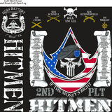 Platoon Shirts (2nd generation print) ECHO 1st 31st HITMEN JUNE 2018