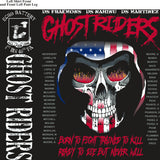 Platoon Shirts (2nd generation print) ECHO 1ST 40TH GHOST RIDERS NOV 2017