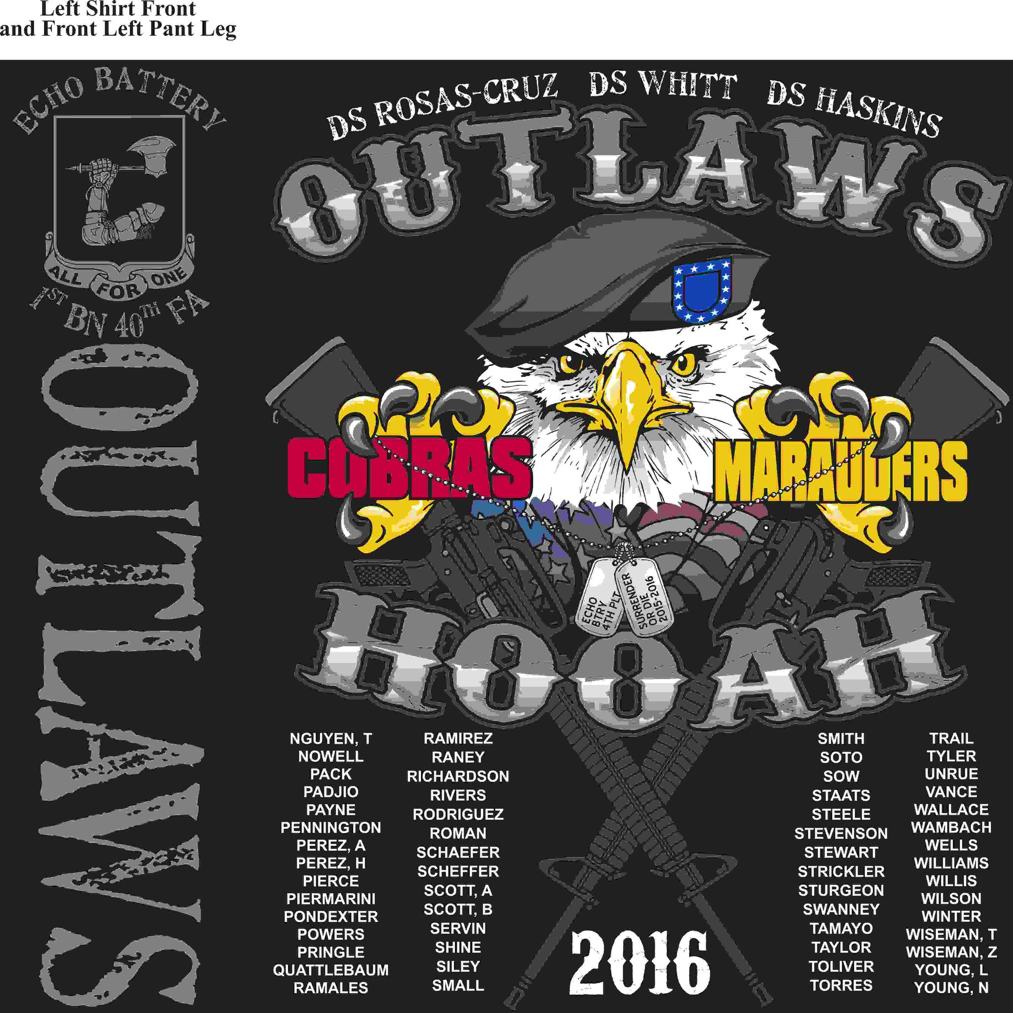 PLATOON SHIRTS (digital) ECHO 1st 40th OUTLAWS JAN 2016