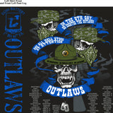 Platoon Shirts Echo 1st 40th OUTLAWS OCT 2015