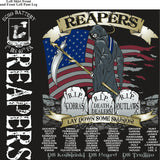 Platoon Shirts ECHO 1st 40th REAPERS APR 2015
