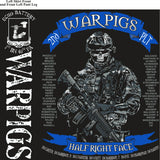 PLATOON SHIRTS (2nd generation print) ECHO 1st 40th WARPIGS MAY 2017