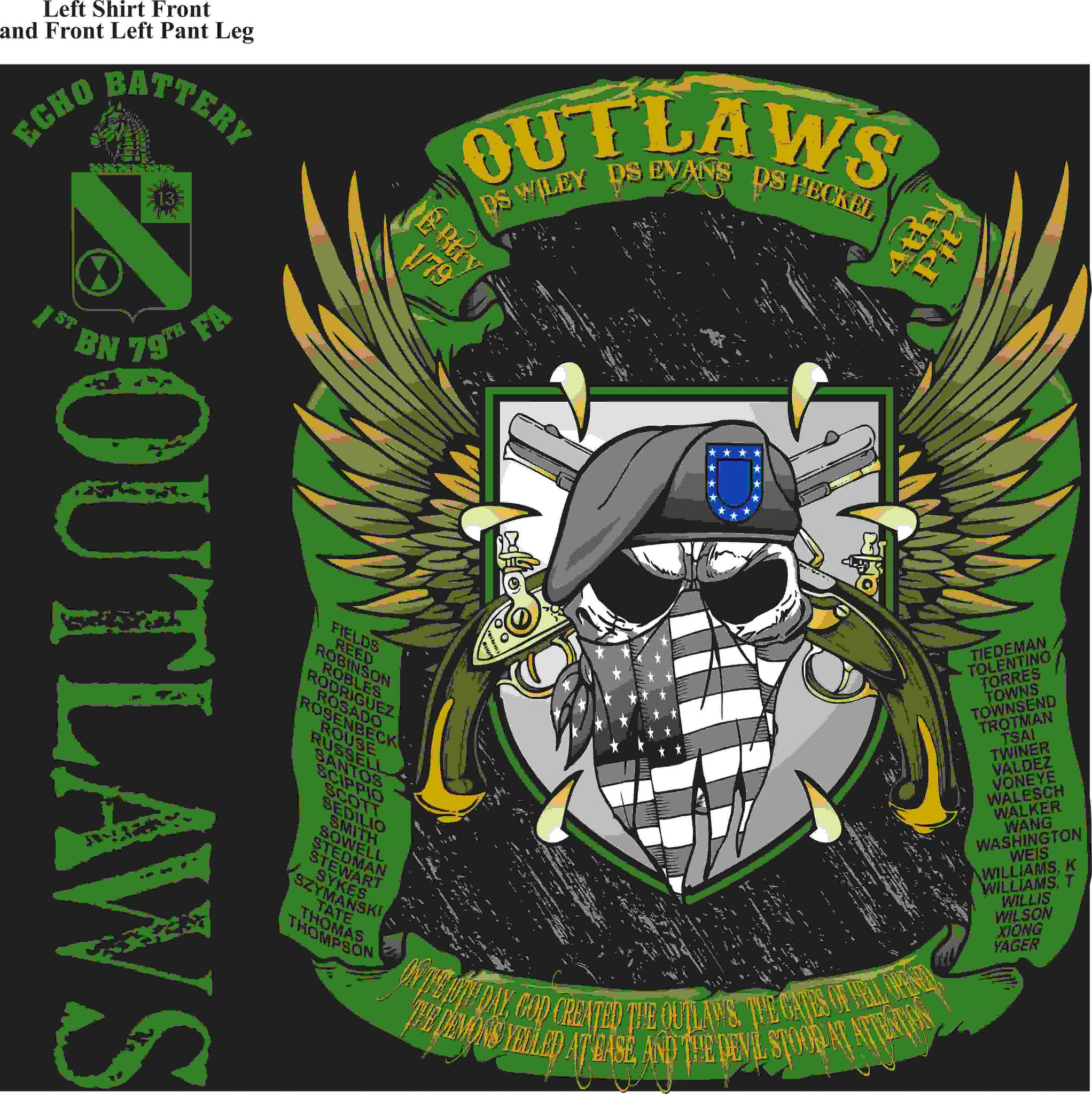 PLATOON SHIRTS (digital) ECHO 1st 79th OUTLAWS FEB 2016