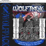 PLATOON SHIRTS (2nd generation print) ECHO 1st 79th WOLFPACK APR 2016
