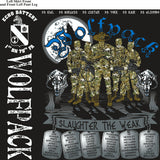PLATOON SHIRTS (2nd generation print) ECHO 1st 79th WOLFPACK FEB 2017