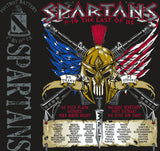 PLATOON SHIRTS (2nd generation print) FOX 1st 19th SPARTANS AUG 2016