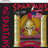 PLATOON SHIRTS (2nd generation print) FOX 1st 19TH SPARTANS MAY 2016