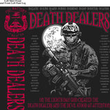 PLATOON SHIRTS (2nd generation print) FOX 1st 31st DEATH DEALERS JUNE 2016
