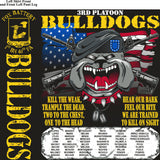 Platoon Shirts FOX 1st 40th BULLDOGS AUG 2015
