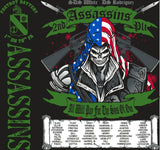 Platoon Shirts FOX 1st 79th ASSASSINS JUNE 2015