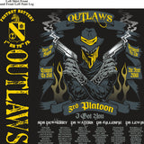 Platoon Shirts Fox 1st 79th OUTLAWS MAR 2015