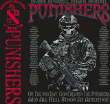 PLATOON SHIRTS (2nd generation print) FOX 1st 79th PUNISHERS SEPT 2016