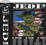 Platoon Shirts (2nd generation print) BRAVO 1ST 40TH JEDI JAN 2018