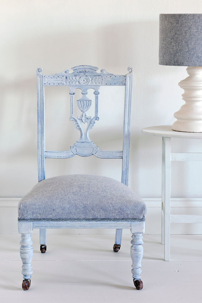 Annie Sloan White Chalk Paint™ Wax on Chair