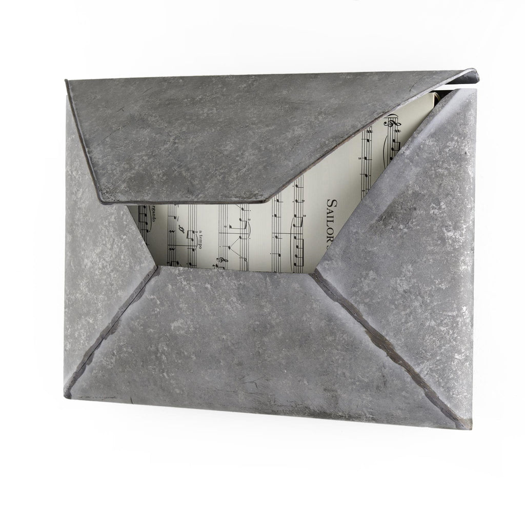 Metal Letter Mailbox