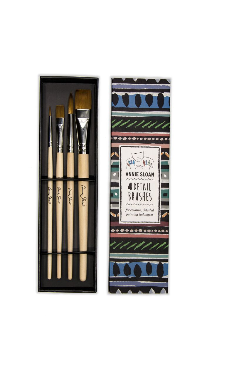 Annie Sloan Detail Brush Set of 4