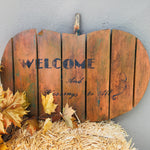 SEASONAL PROJECT: Rustic Pallet Pumpkin Workshop -  layering Chalk Paint™️ and Waxes.