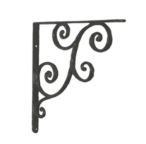 Rustic VINE Shelf Bracket - LARGE
