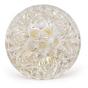Pressed Glass Knob - Large