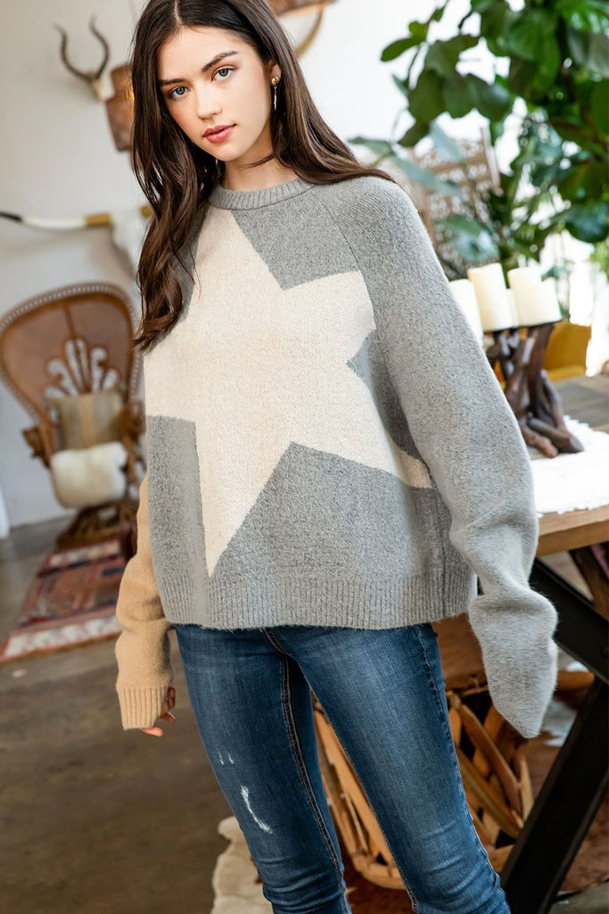 Giant Star Sweater