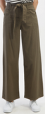 High-Rise Belted Pant