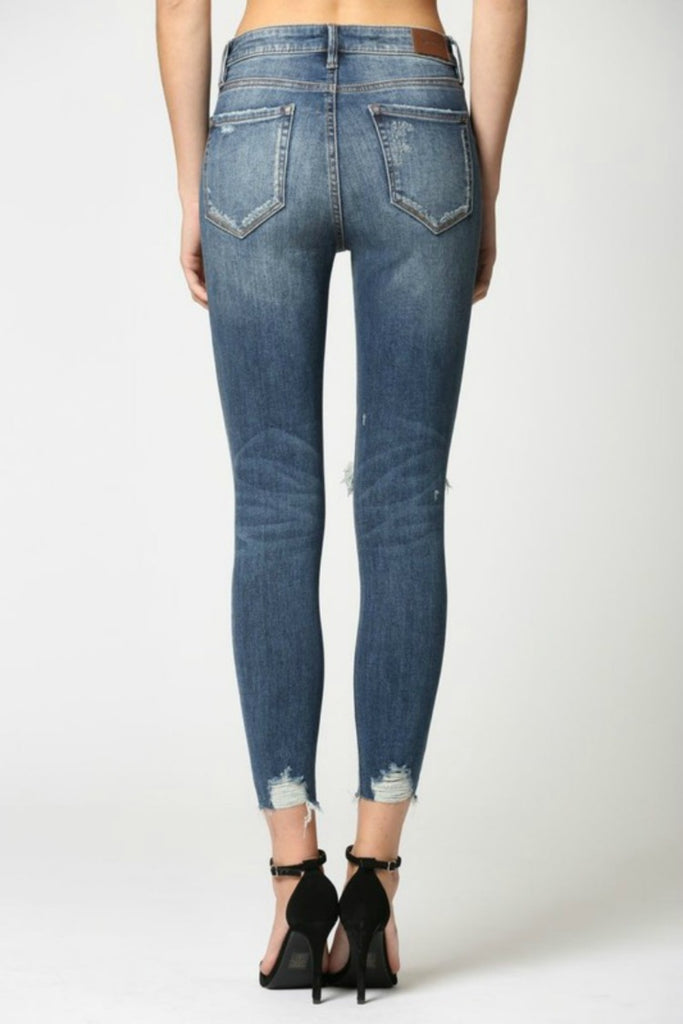 Taylor High Rise Skinny w/ Clean Cut Hem