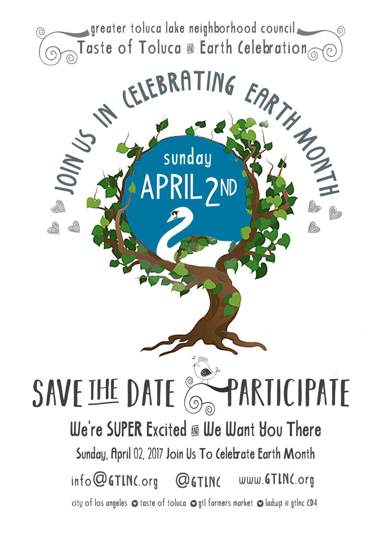 Excited for the Toluca Lake Earth Day Celebration!