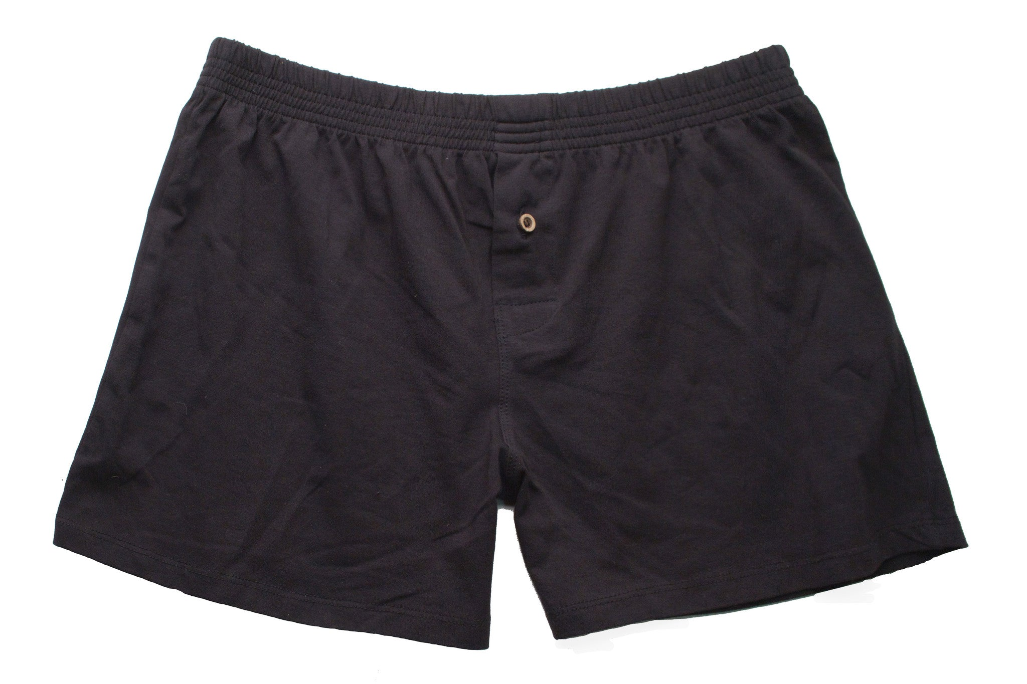 Black Organic Cotton Boxer